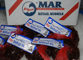 Mar Seafood Retail Mussels
